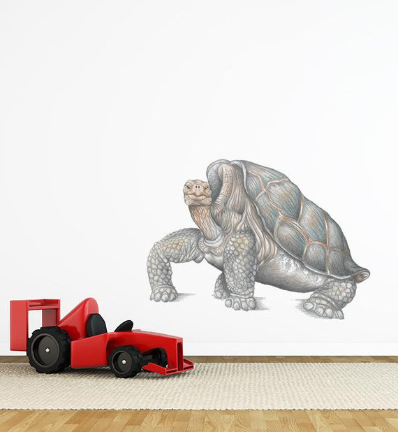 Lonesome George The Tortoise Wall Sticker
