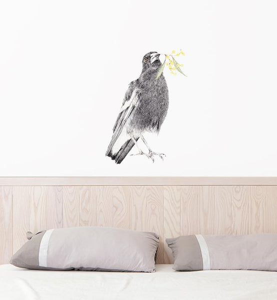 Maggie the Magpie Wall Sticker
