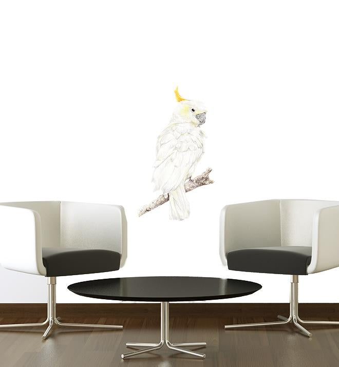 Sammy the Cockatoo Wall Sticker