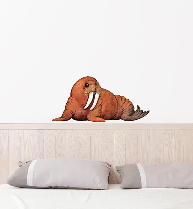 Bob the Relaxing Walrus Wall Sticker