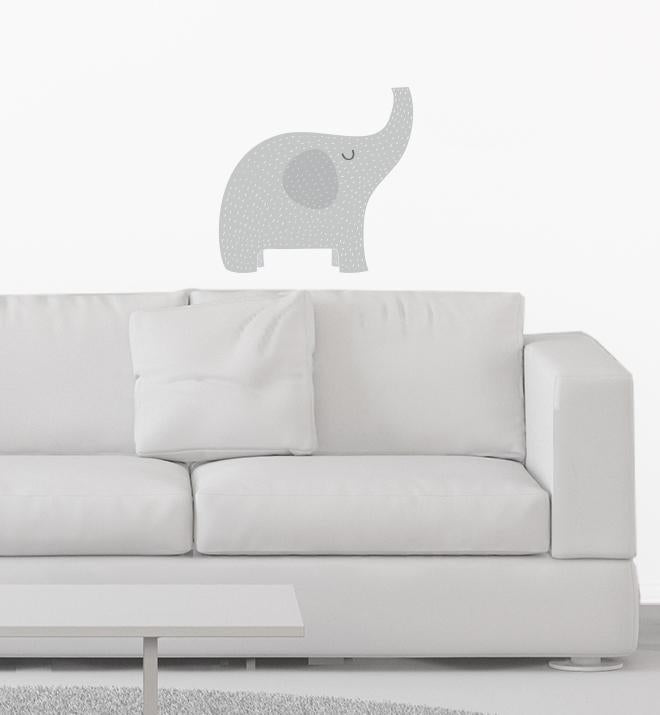 Spotty The Elephant Wall Sticker