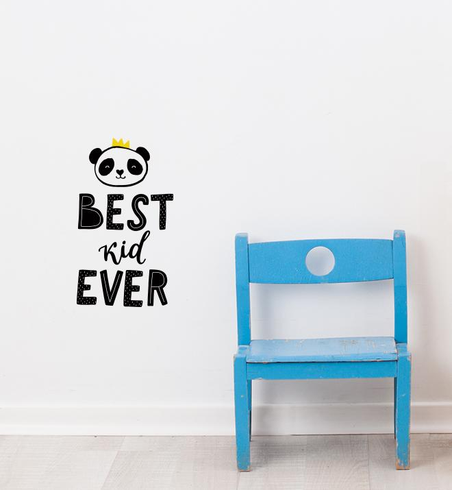 Best Kid Ever Wall Sticker