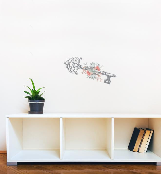 Vintage Key Wall Sticker