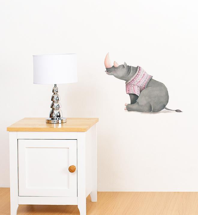 Ryan-O With Jumper Wall Sticker