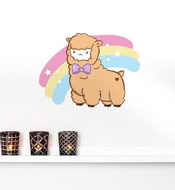Bramble The Alpaca Wall Sticker