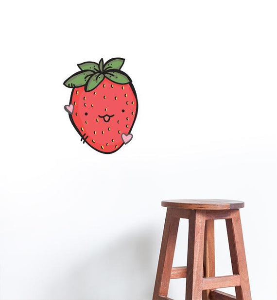 Delicious Strawberry Wall Sticker