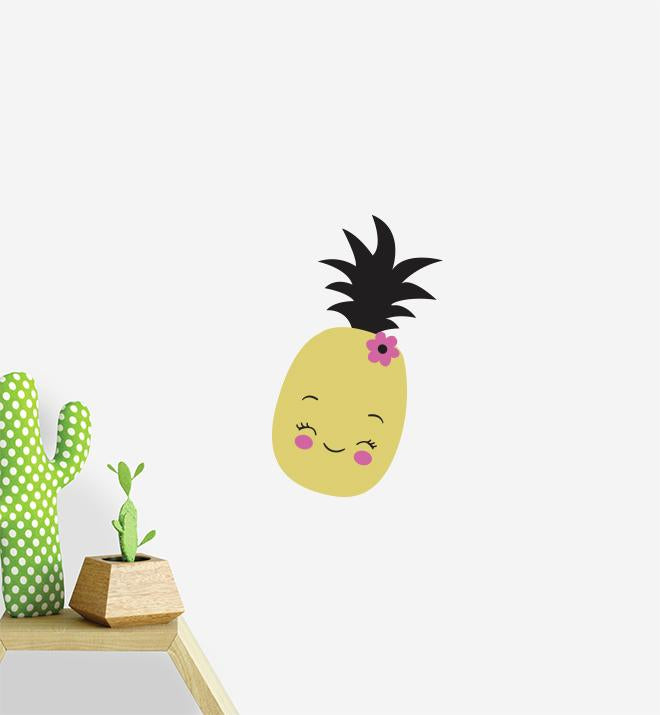 Cute Pineapple Wall Sticker