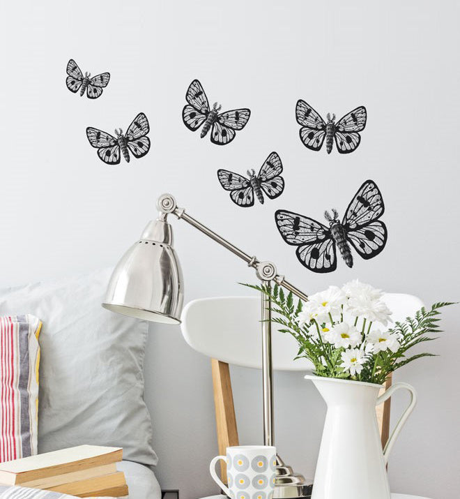 Owl Moth Wall Sticker