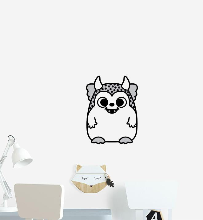 Chubby Monster Wall Sticker