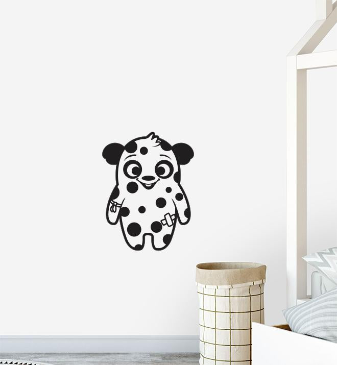 Happy Spotty Monster Wall Sticker