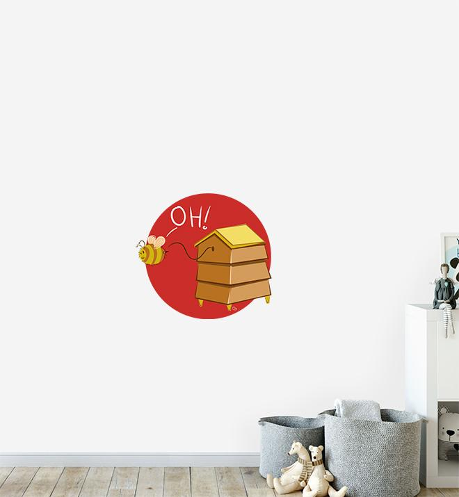 Beehive Wall Sticker
