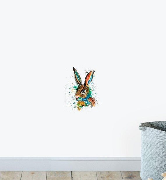 Bunny Nursery Wall Sticker