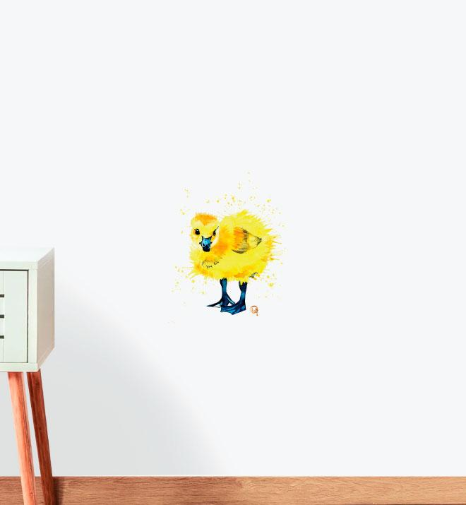 Duck Baby Wall Sticker