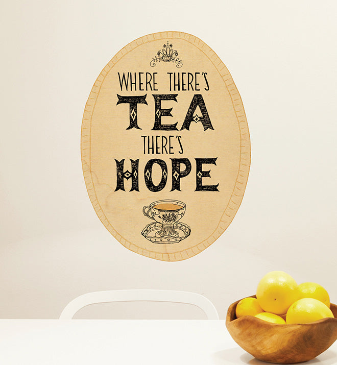 Tea Hope Wall Sticker