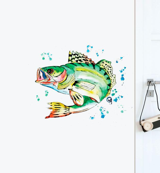 Fish Wall Sticker