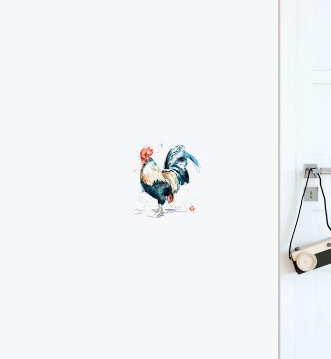 Rooster Wall Sticker