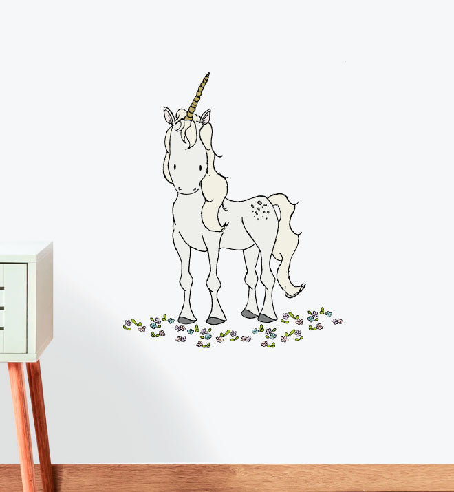 Wild Unicorn Wall Sticker