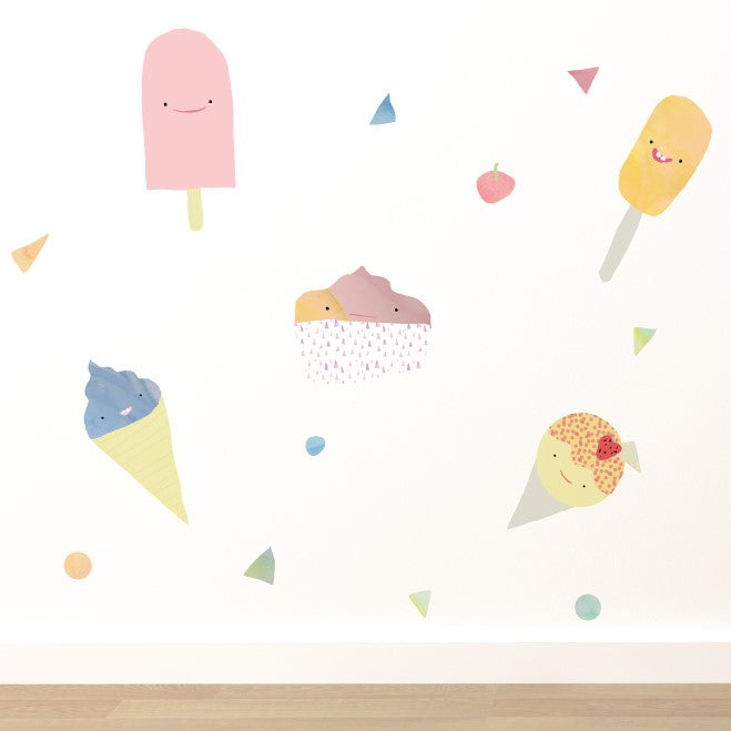 Ice Cream Dream Wall Sticker