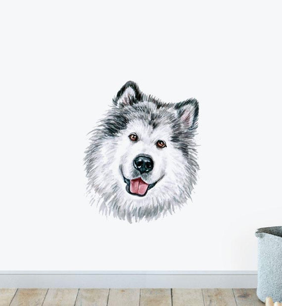 Alaskan Malamute Wall Sticker
