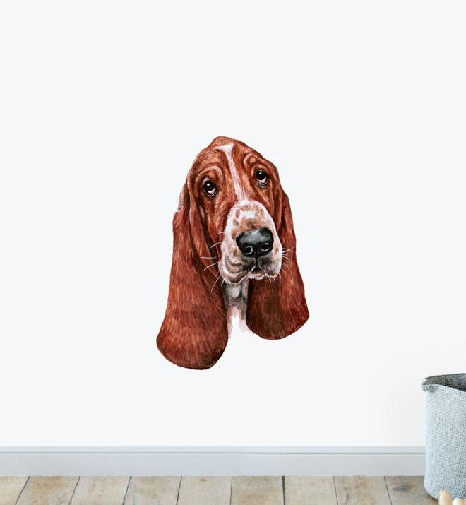 Bloodhound Dog Wall Sticker