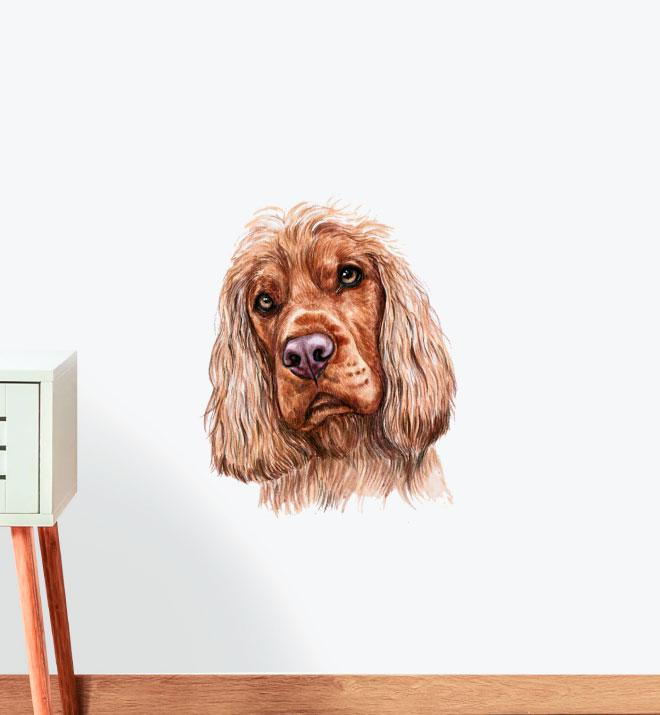 Cocker Spaniel Dog Wall Sticker