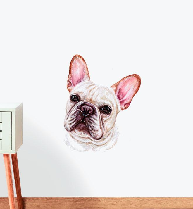 French Bulldog Dog Wall Sticker