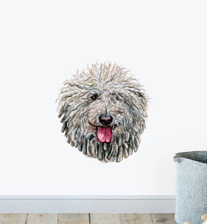 Komondor Dog Wall Sticker