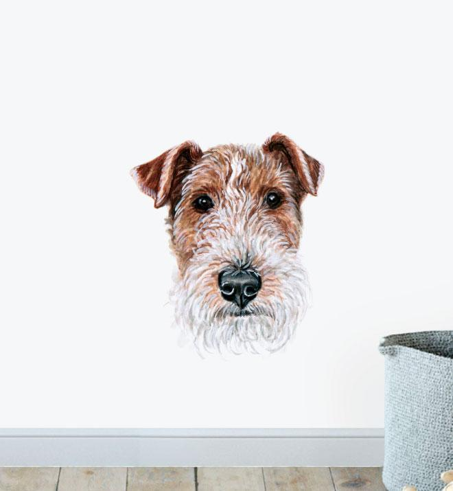 Schnauzer Dog Wall Sticker