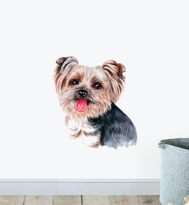 Terrier Puppy Dog Wall Sticker