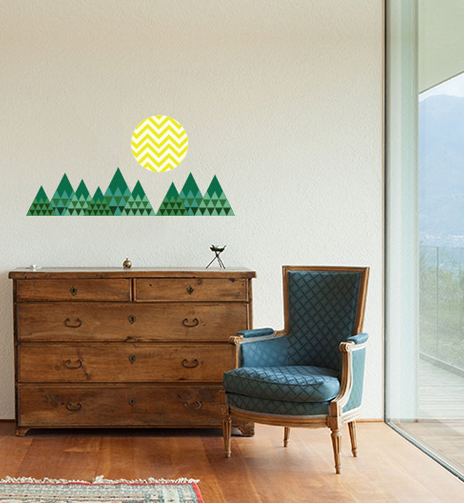 Mountains Wall Sticker