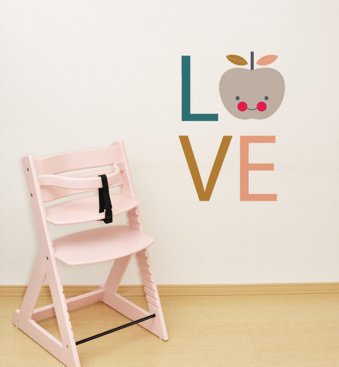 Love Apple Wall Sticker