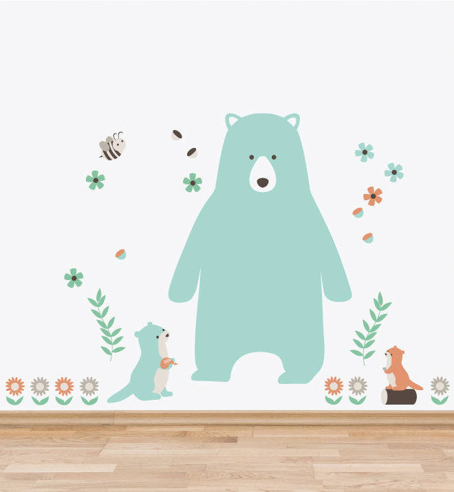 Woodlands Animals Set 1 Wall Sticker