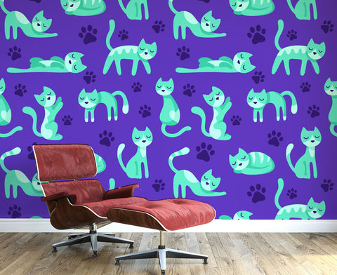 Kitty Cats Wall Mural