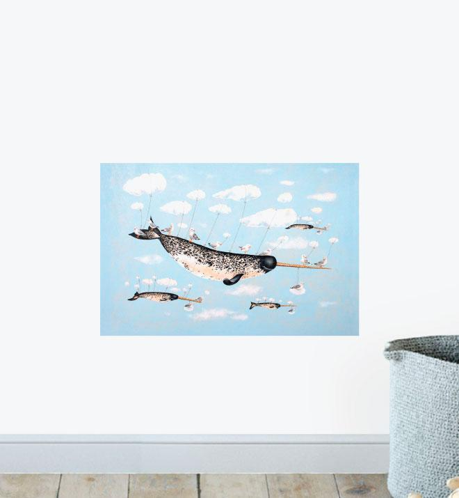 A Narwhals Dream Wall Sticker