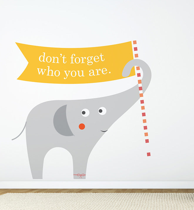 Zoo Animal Elephant Wall Sticker