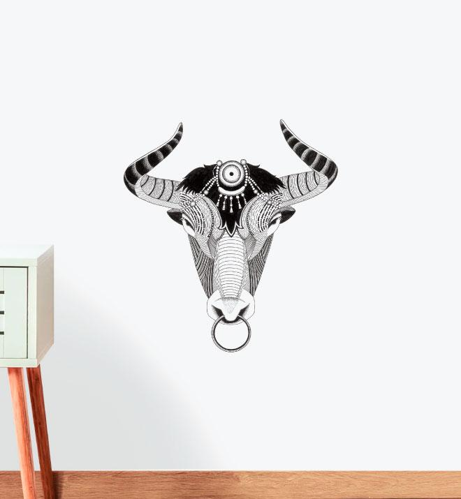 Honest Ox Wall Sticker