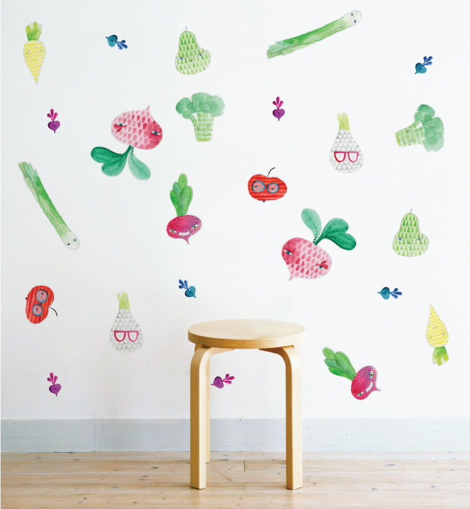 Vegie Patch Wall Sticker