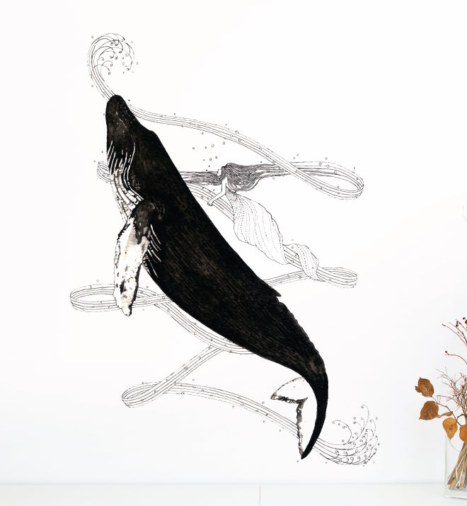 Whale Wall Sticker