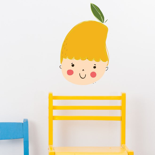 Mango Baby Wall Sticker