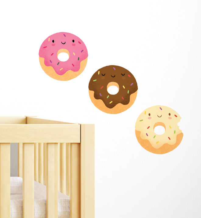 Happy Donuts Wall Sticker