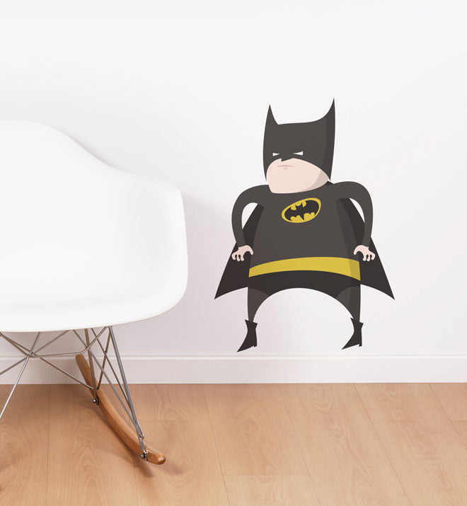 Fat Batman Wall Sticker