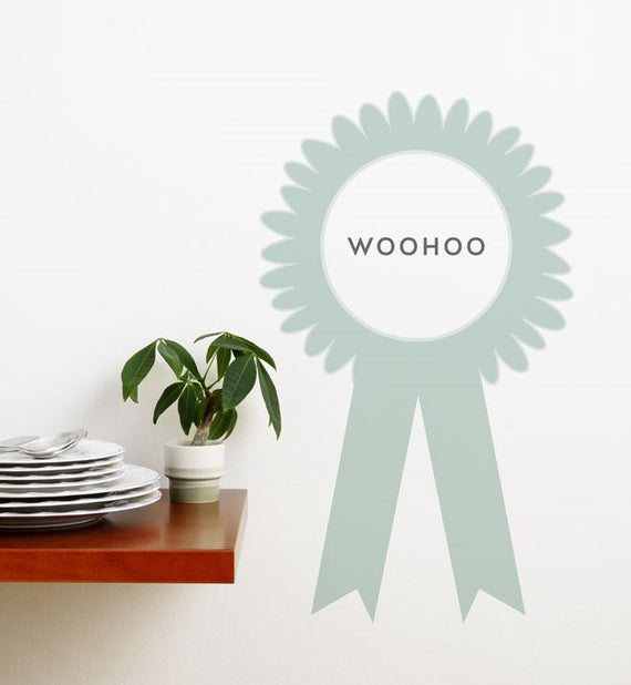 Woohoo! Wall Sticker