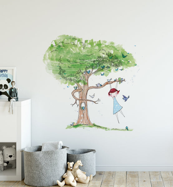 Tree Games Wall Sticker