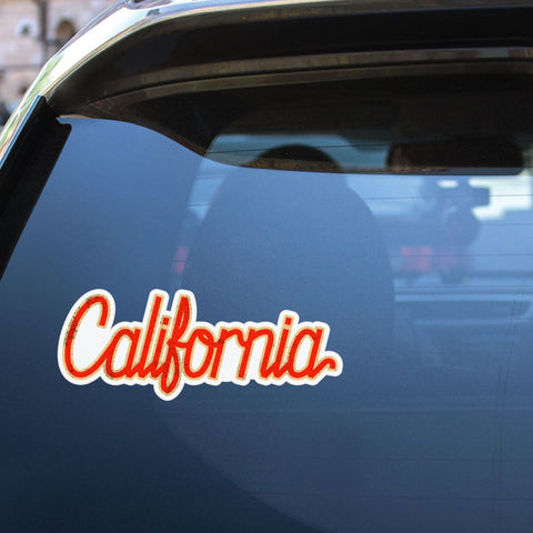 California Vintage Sticker Decal