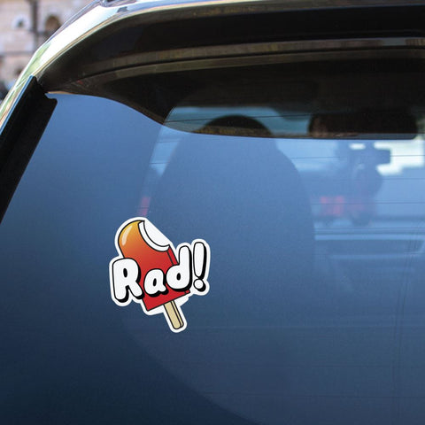 Rad Sticker Decal