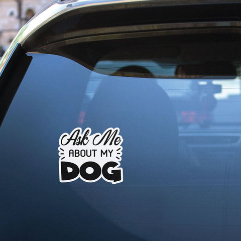 Ask Me Sticker Decal