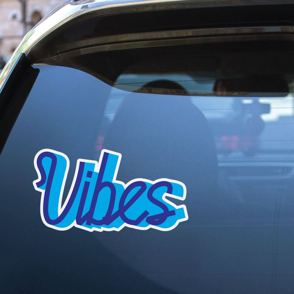 Vibes Sticker Decal