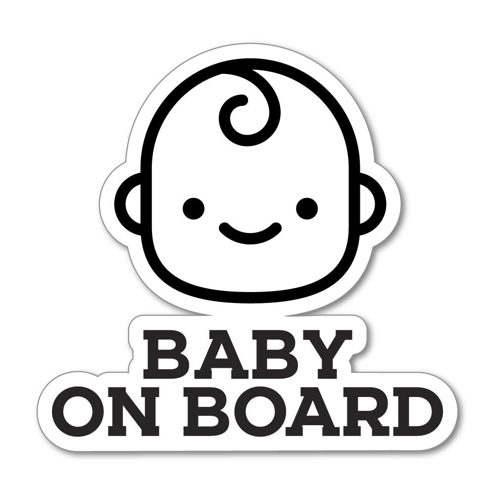 Baby On Board 2 Sticker Decal