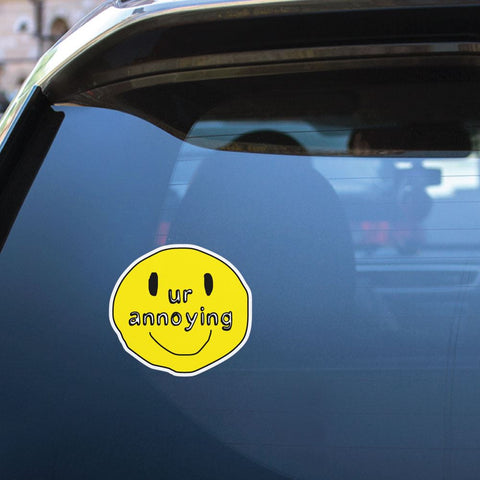 Annoying Sticker Decal