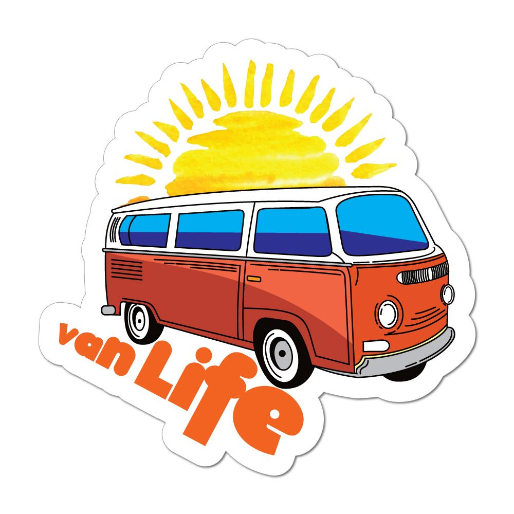 Van Life Car Sticker Decal